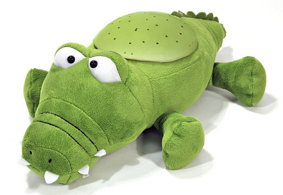 Nachtlicht, »cloudb« Twilight Buddies™ Alligator in grün