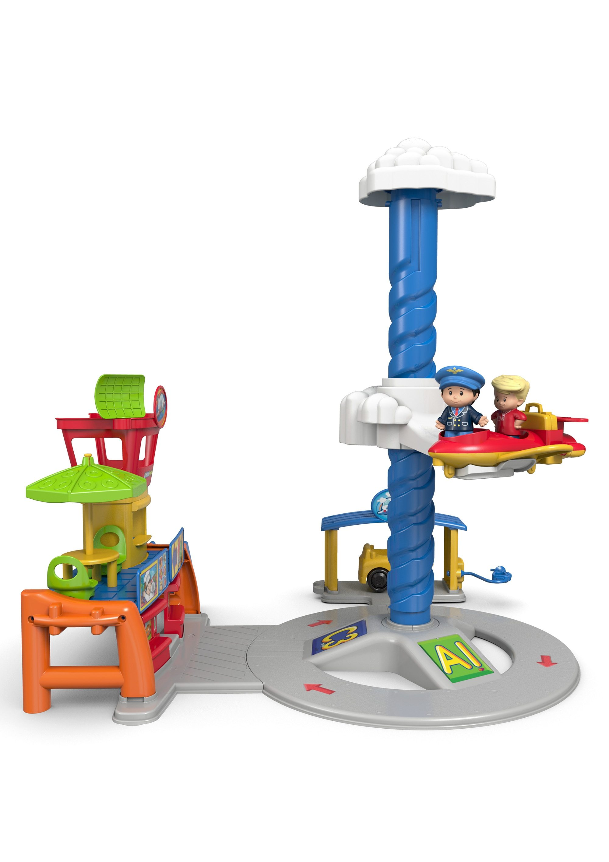 Fisher Price Spiel-Set Flughafen, Little People, »Flughafen«