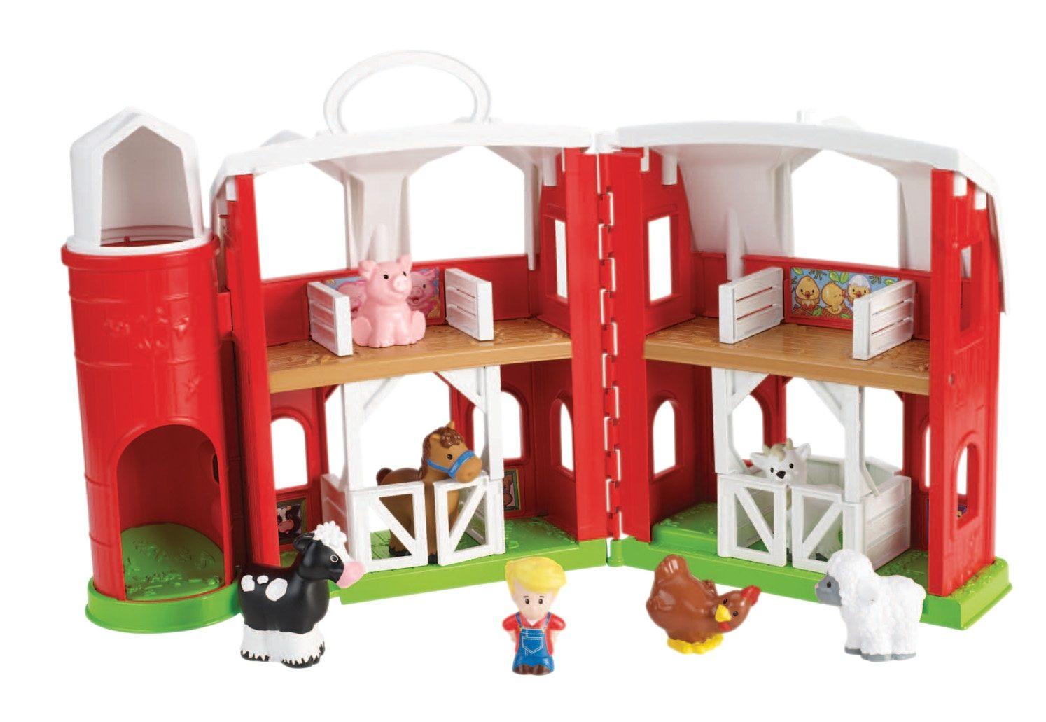 Fisher Price Spiel-Set, Little People, »Tierfreunde Bauernhof«