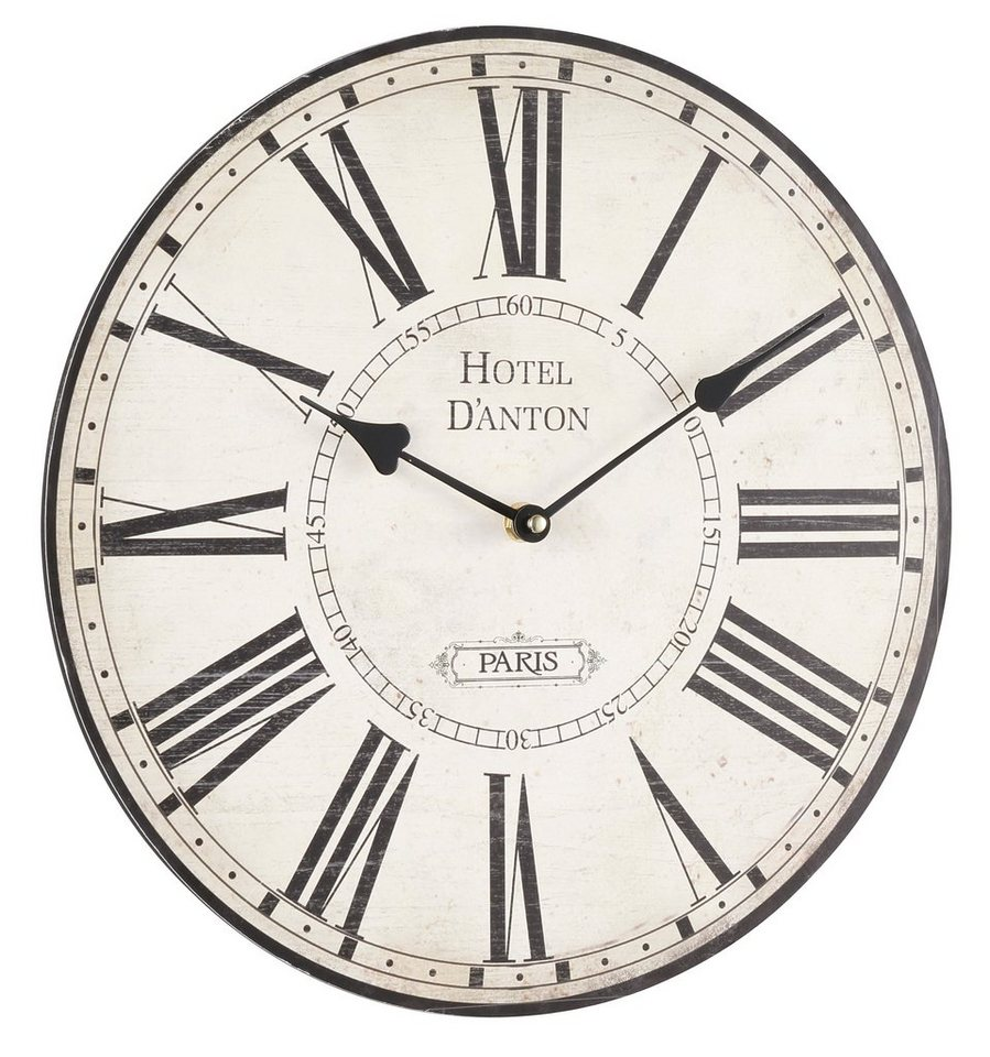 Home affaire Wanduhr D Anton Dekorative Uhr online