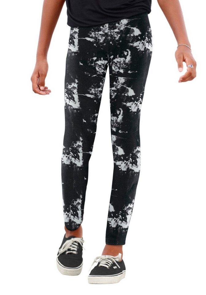 Arizona Leggings in schwarz-weiß
