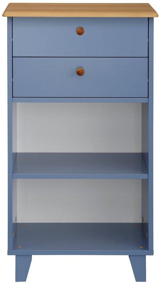 Home affaire Kommode »Tobago«, Breite 57 cm in blau