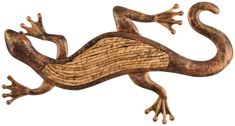 Home affaire Wanddekoration »Gecko« in natur