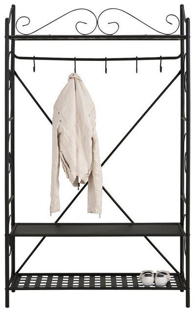 Garderoben Sets - Home affaire Garderobe »Princess«, aus einem schönen Metallgestell, mit edlen romantischen Verzierungen, in zwei Farbvarianten  - Onlineshop OTTO