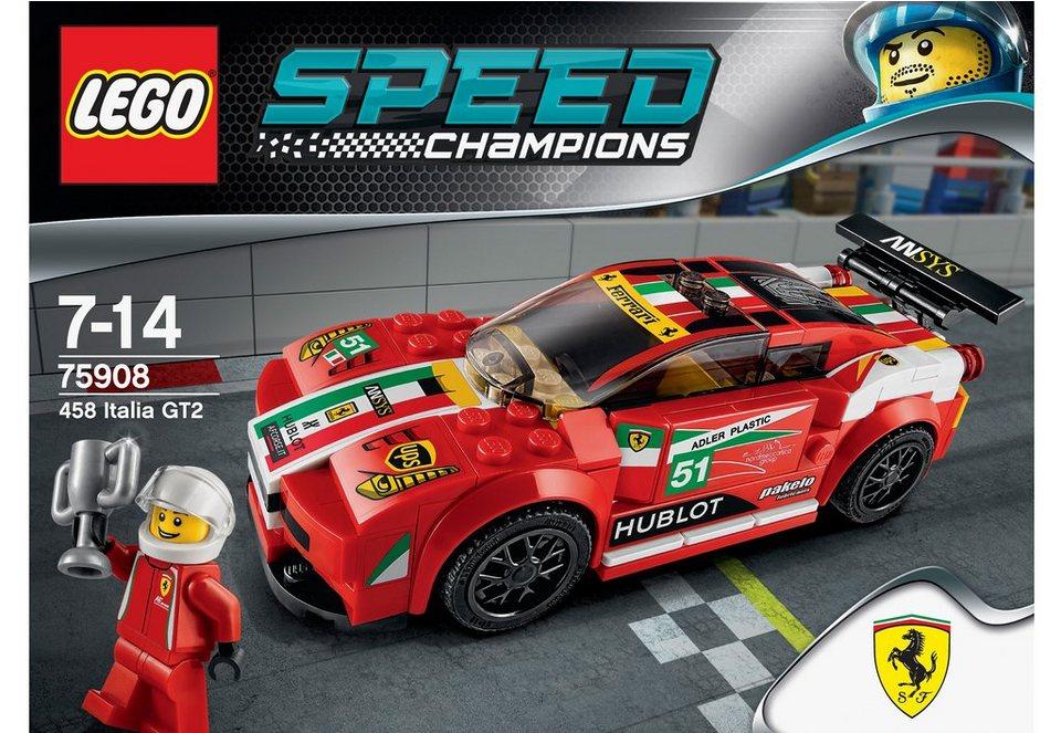 LEGO® 458 Italia GT2 (75908), »LEGO® Speed Champions«