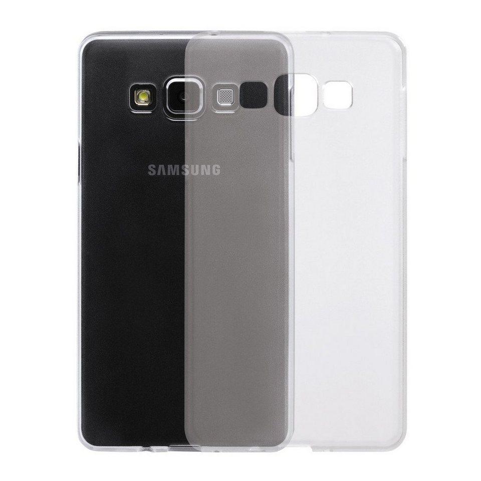 Flashstar Case Hülle für Samsung Galaxy A7, transparent in Transparent