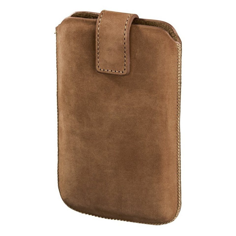 Hama Smartphone-Sleeve Chic Case, Gr. XXL, Cappuccino in Braun