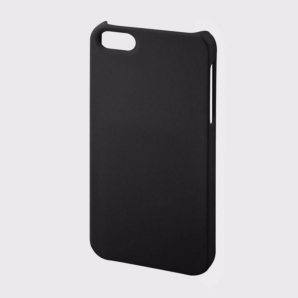 Hama Cover Touch für Apple iPhone 5/5s/SE, Schwarz in Schwarz