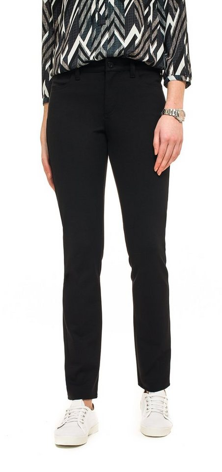 NYDJ Slim Straight Pants in Black