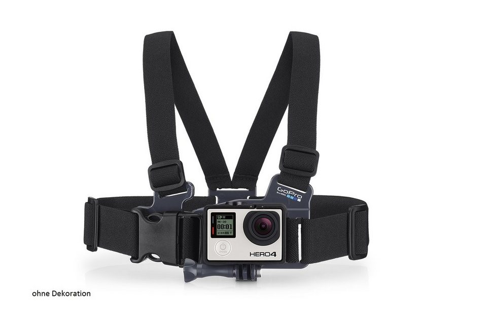 "GoPro Brustgurt Halterung für HERO »""Jr. Chesty: Chest Harness"" ACHMJ-301« in schwarz"