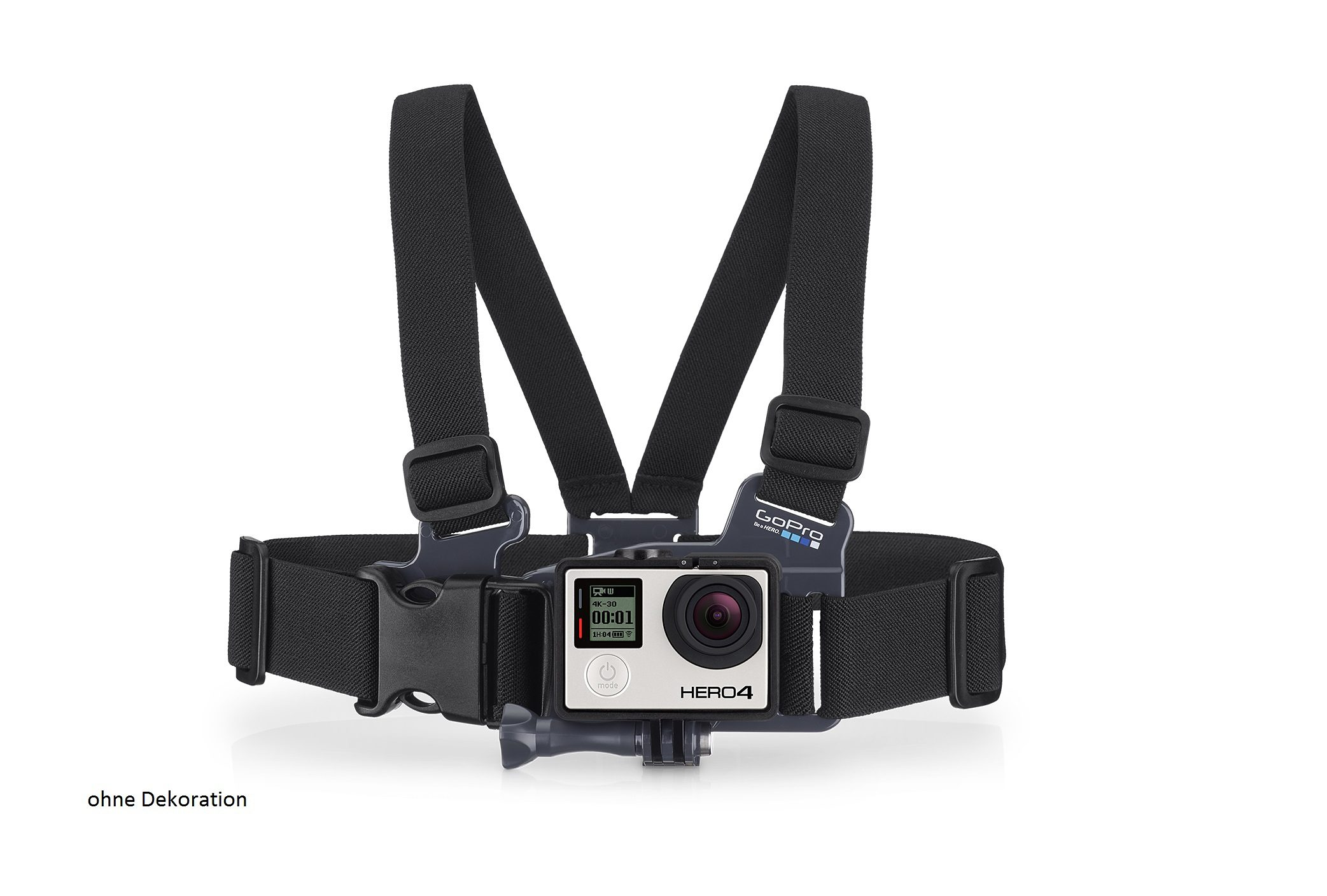 "GoPro Brustgurt Halterung für HERO »""Jr. Chesty: Chest Harness"" ACHMJ-301«"