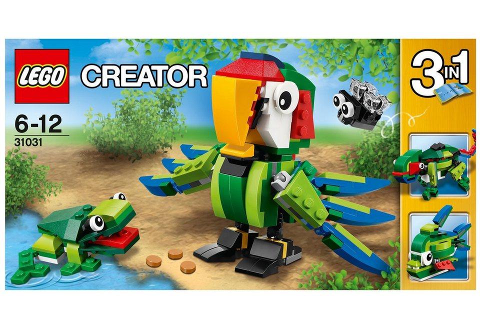 LEGO® Regenwaldtiere, (31031), »LEGO® Creator«