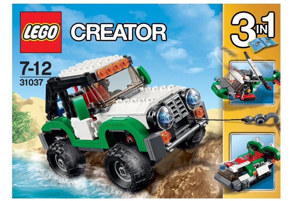 LEGO® Abenteuerfahrzeuge, (31037), »LEGO® Creator«