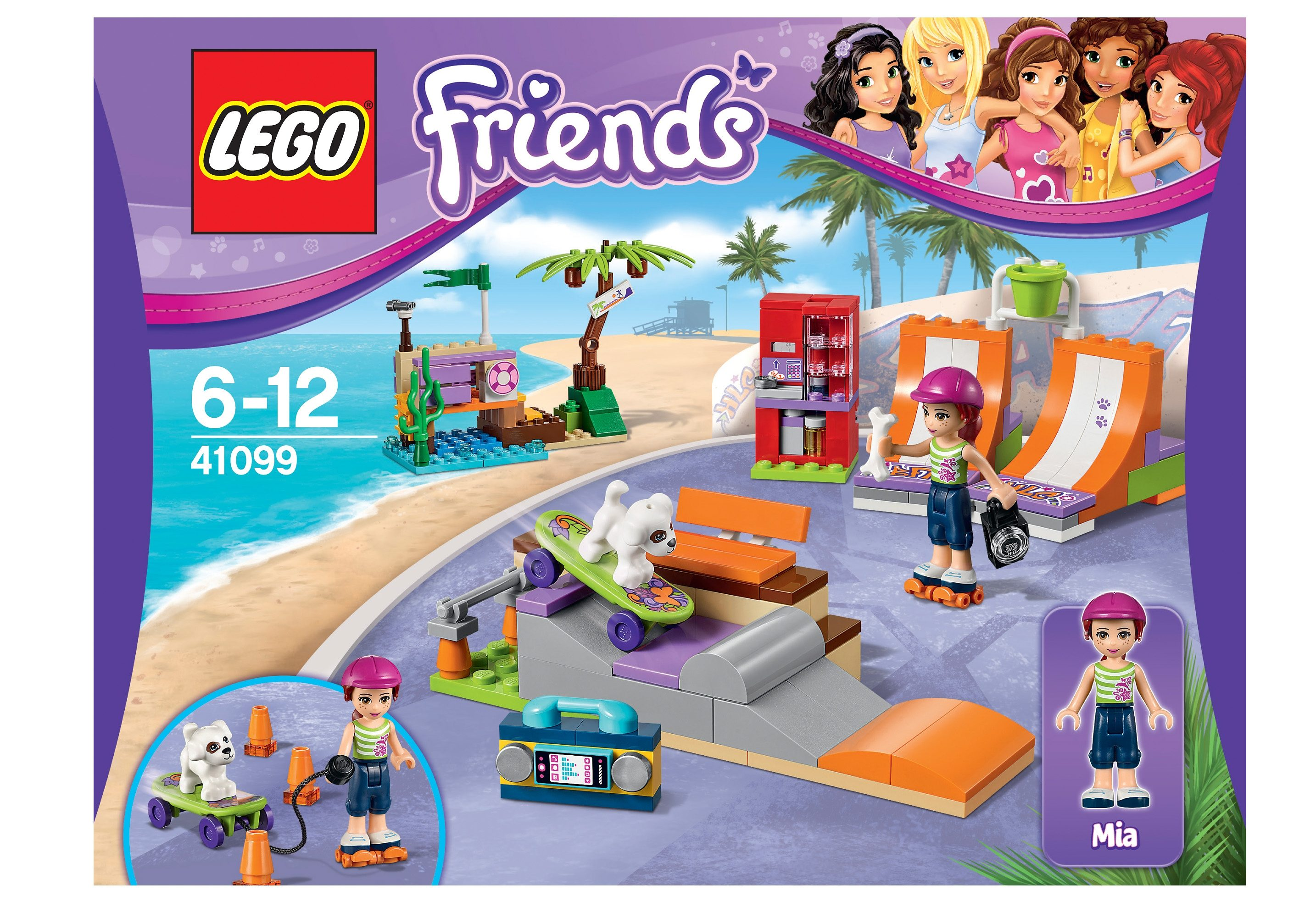 LEGO® Skatepark, (41099), »LEGO® Friends«