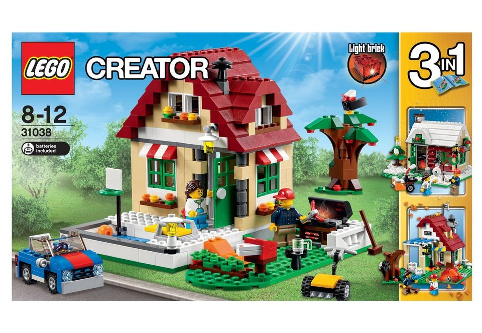 LEGO® Wechselnde Jahreszeiten, (31038), »LEGO® Creator«