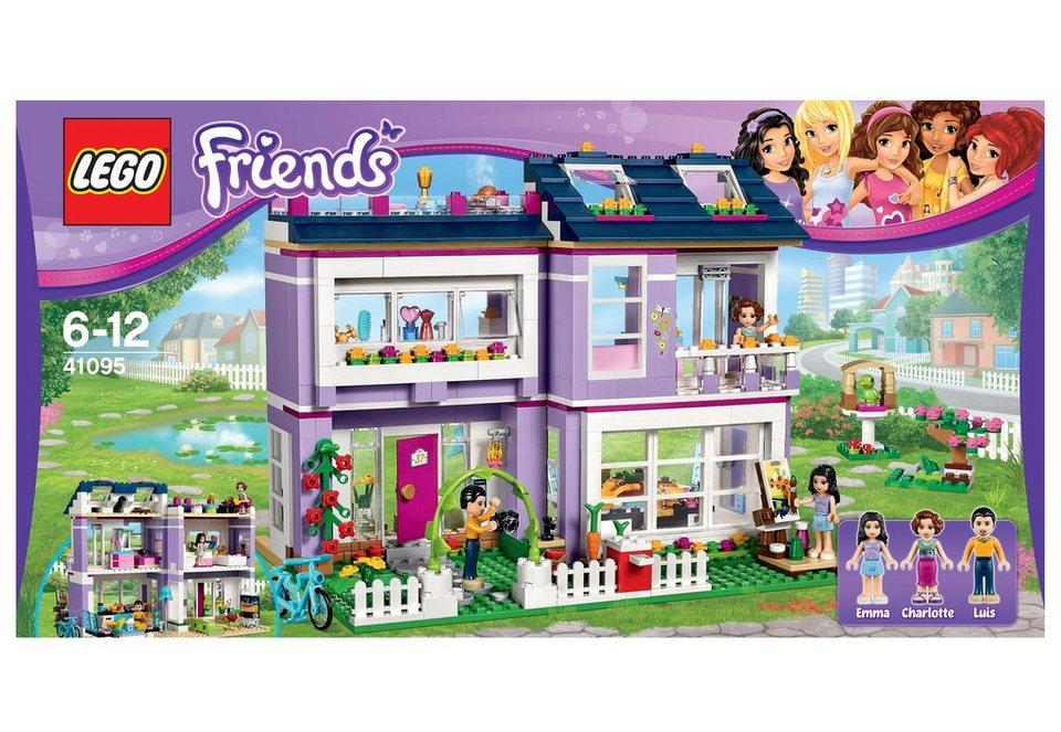 LEGO® Emmas Familienhaus, (41095), »LEGO® Friends«