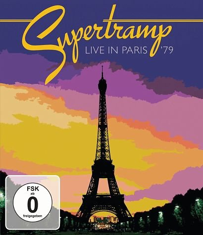 CD+DVD »Live In Paris '79«