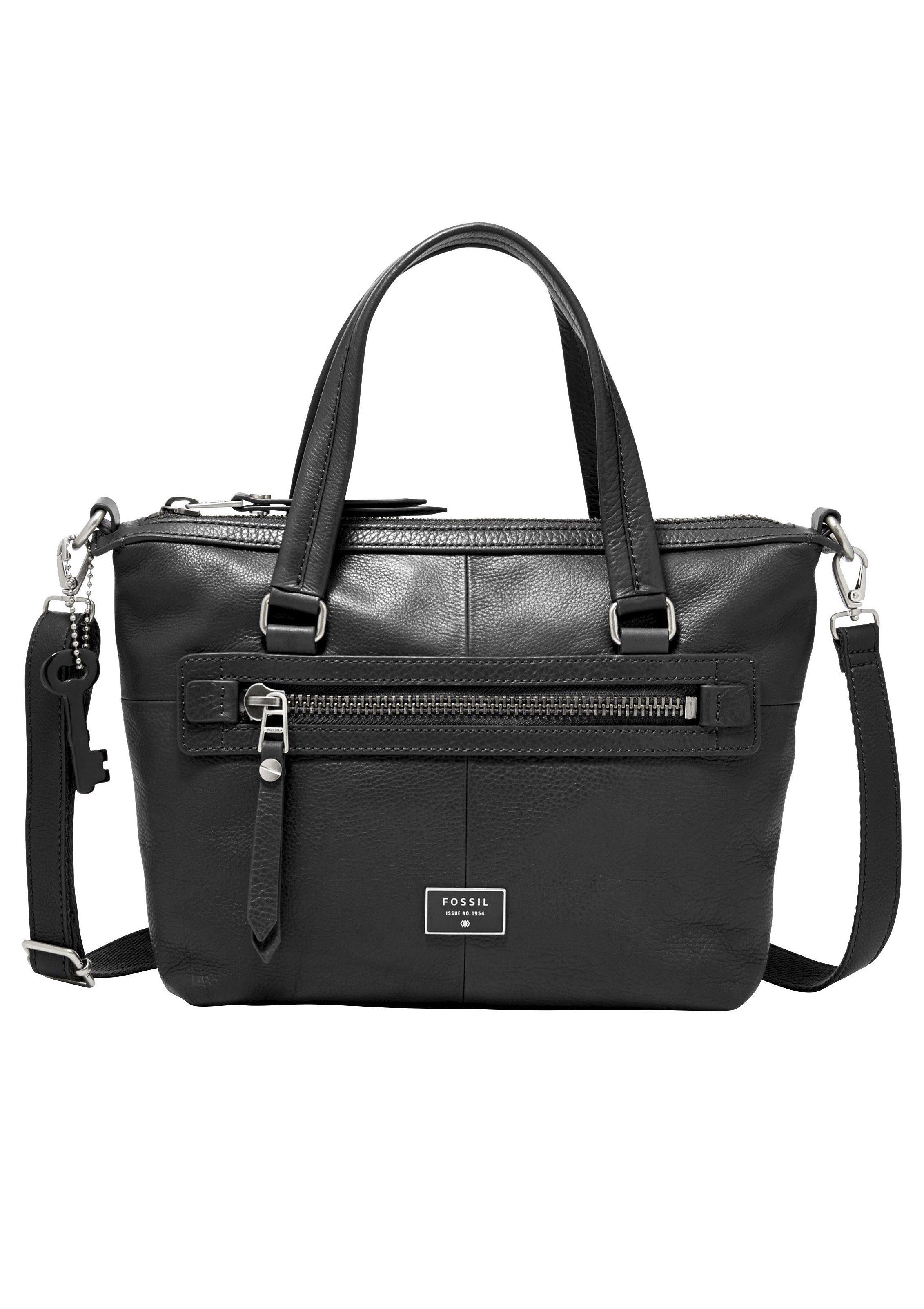 Fossil Handtasche »DAWSON SATCHEL« aus Leder