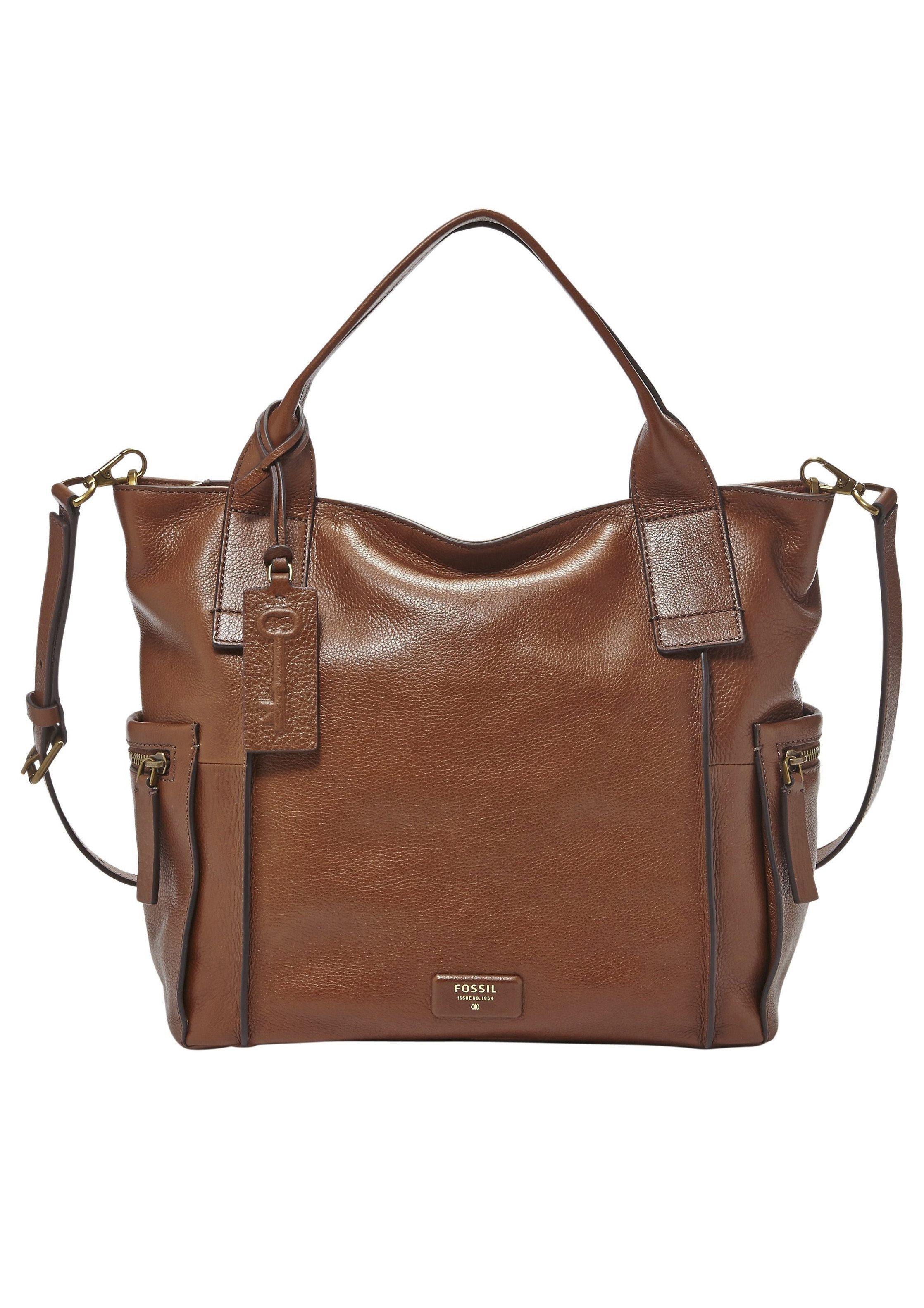 Fossil Handtasche »EMERSON SATCHEL« aus Leder