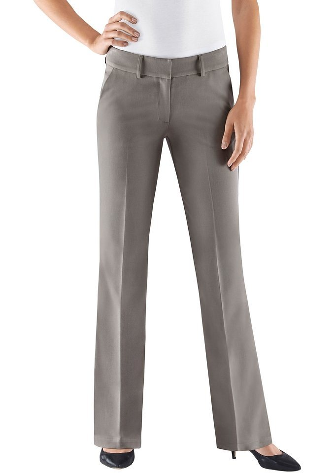 Lady Hose mit Stretch-Anteil in taupe