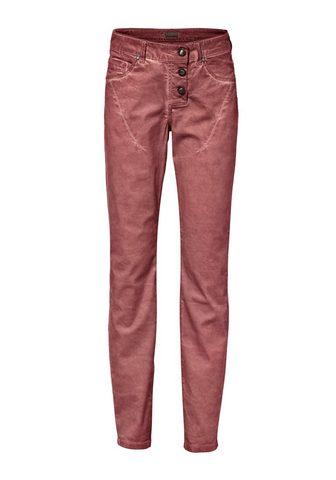 HEINE CASUAL Laisvo stiliaus kelnės in Used-...
