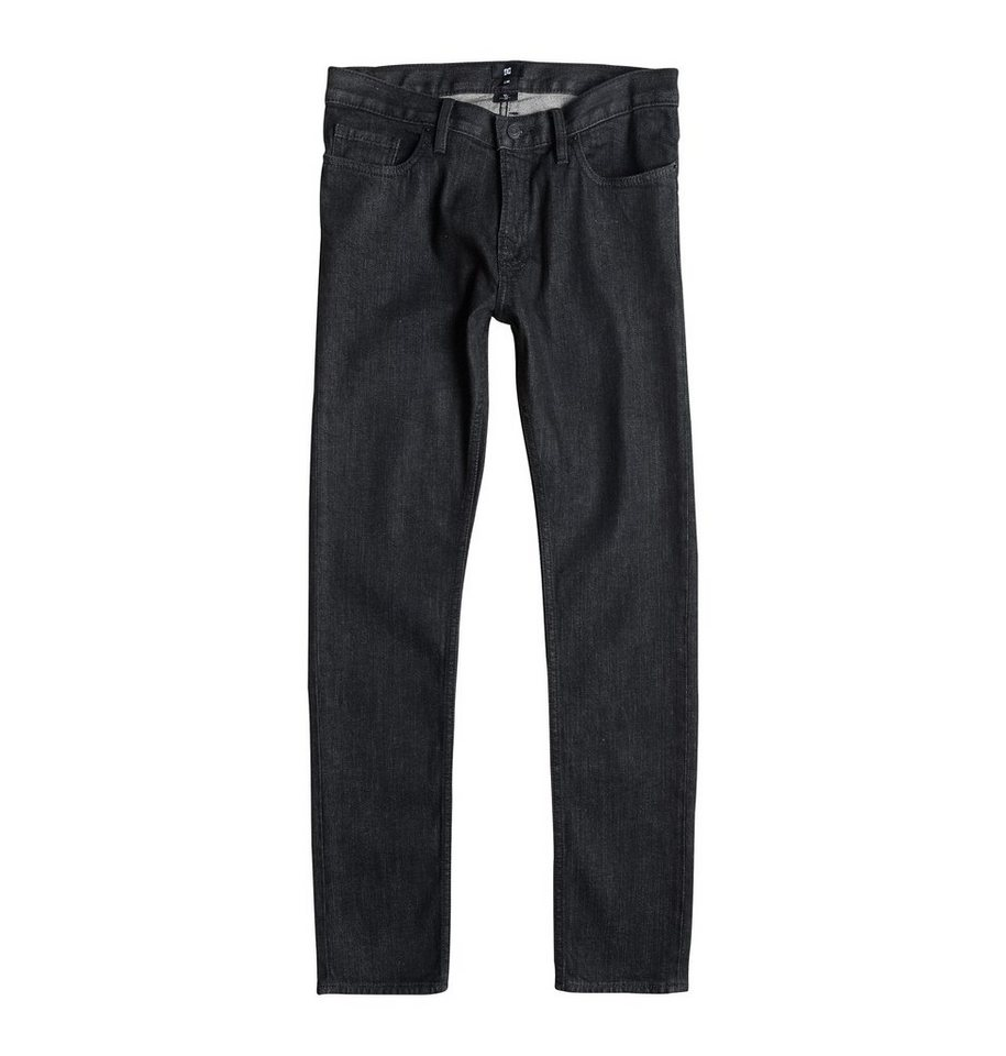 DC Shoes Jeans »Worker Basic Slim Jean Black Rinse 32« in black rinse