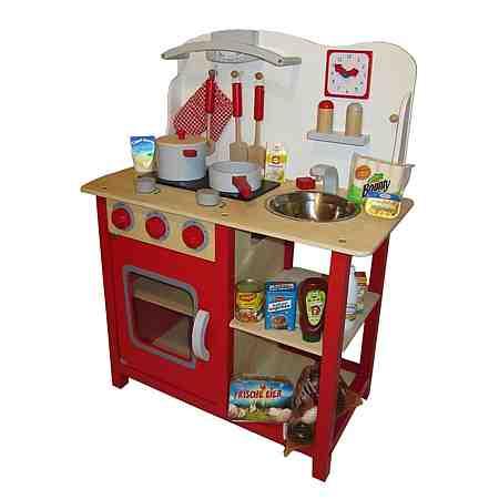 Tanner Spielküche für Kinder, »Holzküche mit Zubehör«