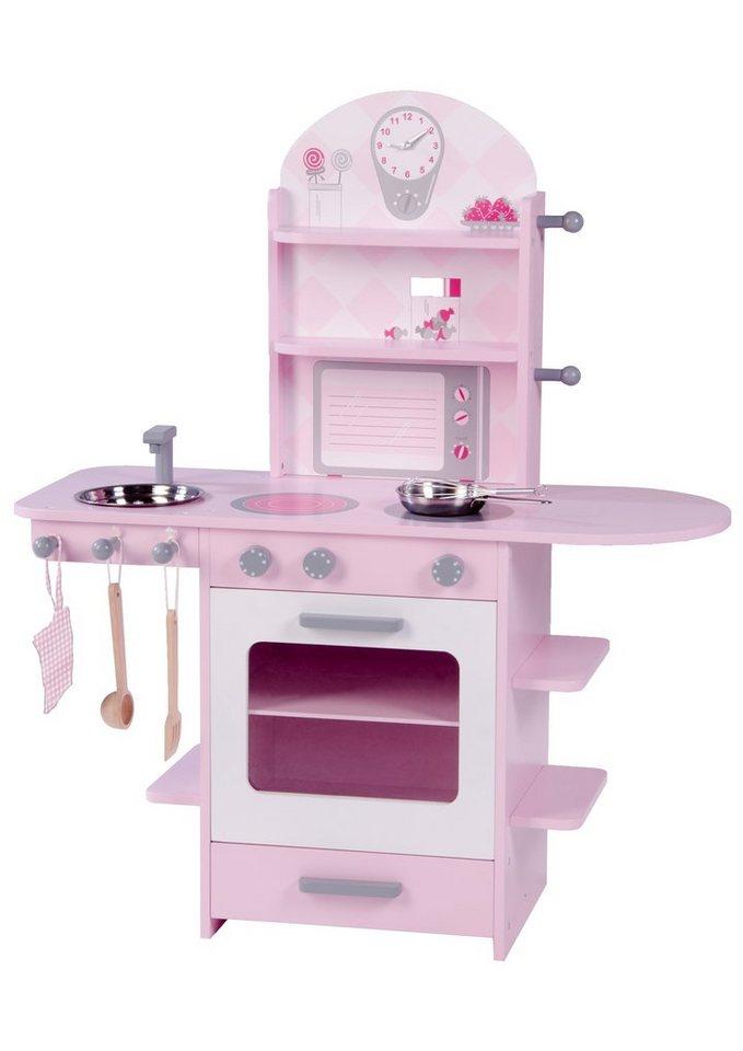 Roba Spielküche für Kinder Kinderküche rosa