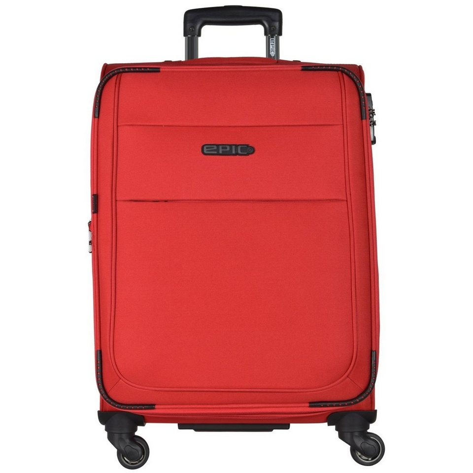 Epic DiscoveryAIR 4-Rollen Trolley 77 cm in rot