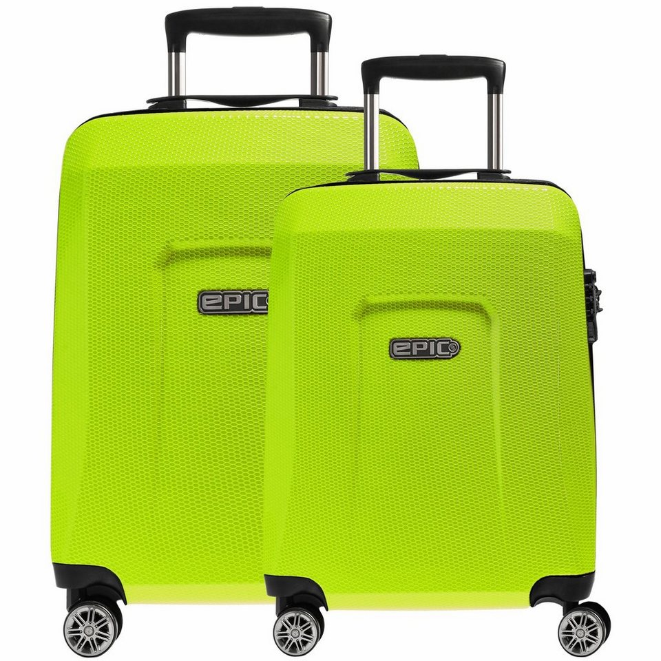 Epic HDX Hexacore 4-Rollen-Trolley Set 2-tlg. in greenGLOW
