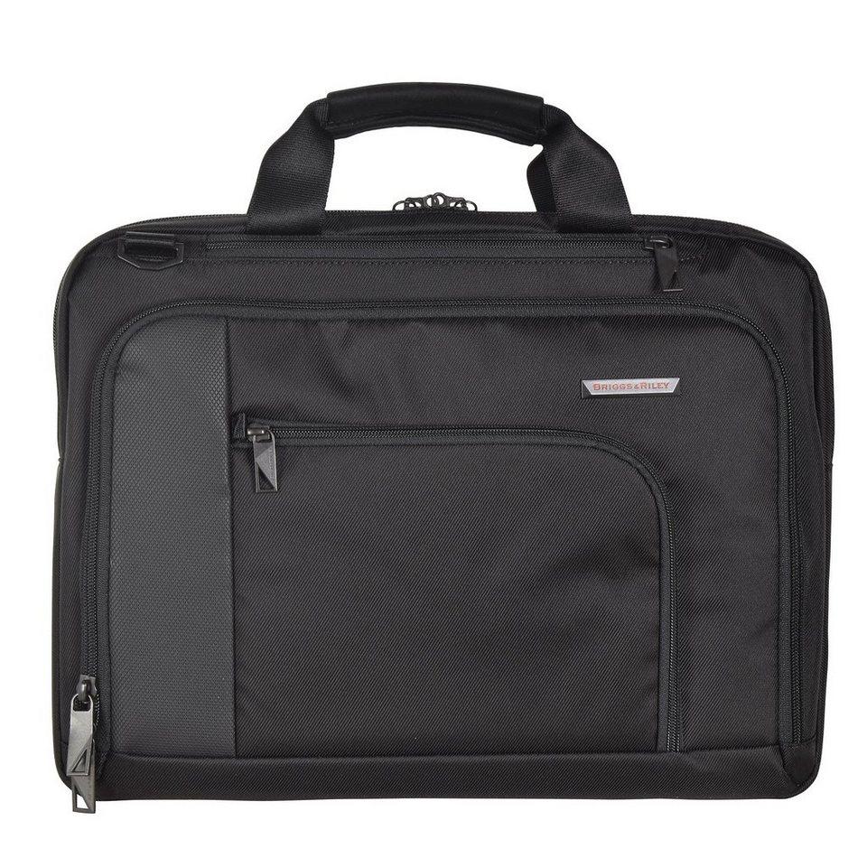 Briggs&Riley Verb Aktentasche 39 cm Laptopfach in black