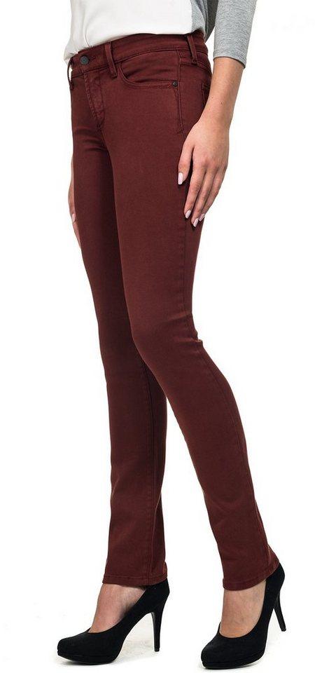 NYDJ Alina Legging Jeans in Oxblood