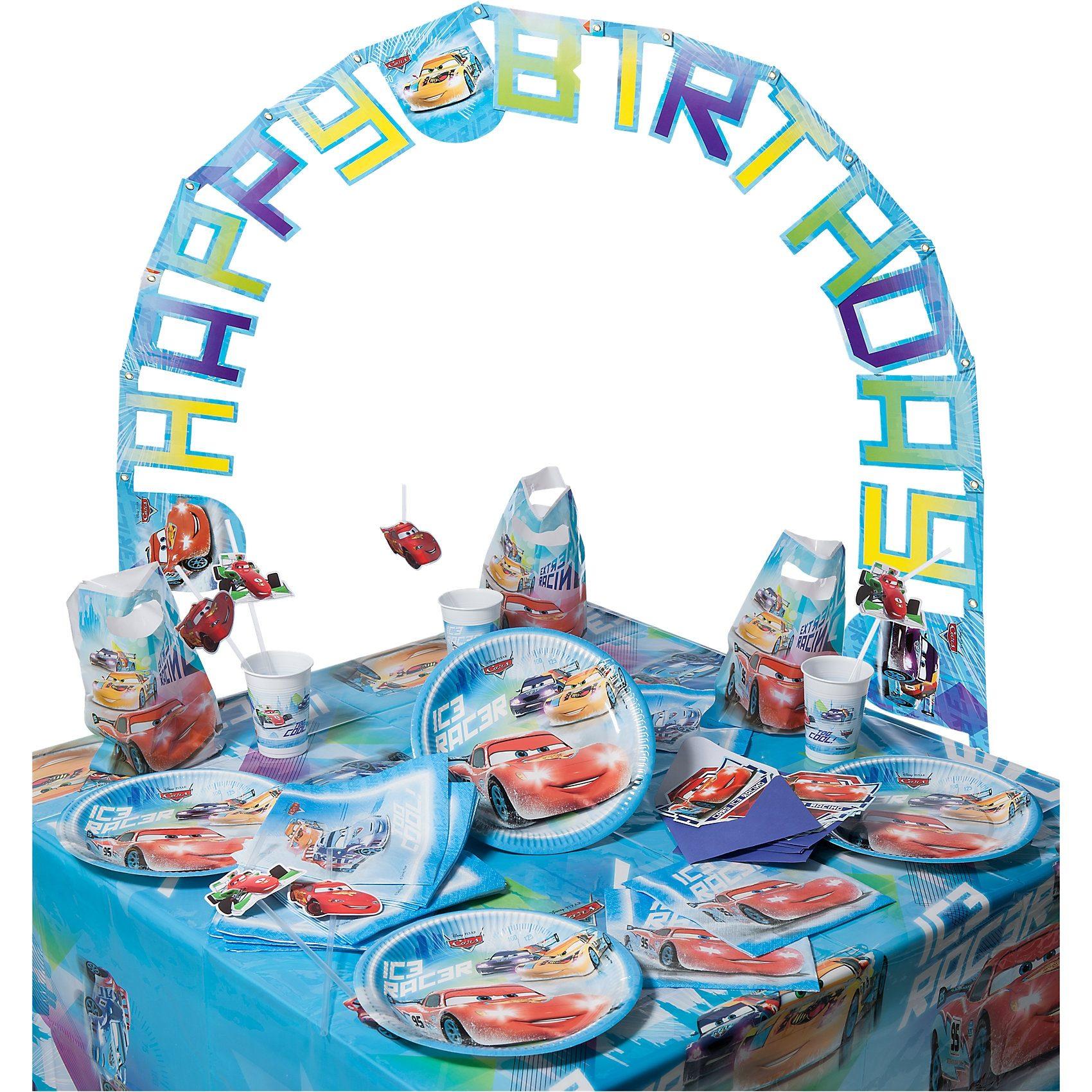 Procos Partyset Disney Cars Ice, 56-tlg.