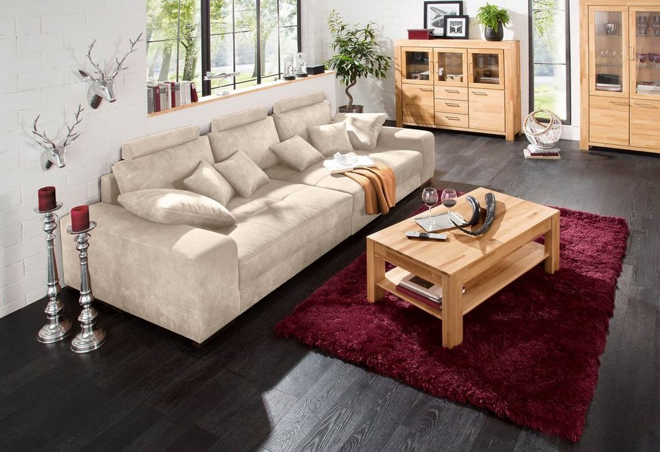 premium collection by home affaire big sofa mit. Black Bedroom Furniture Sets. Home Design Ideas