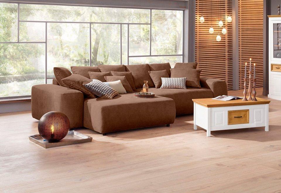 Ecksofa luxus  Home affaire Ecksofa mit Boxspringfederung, wahlweise mit ...