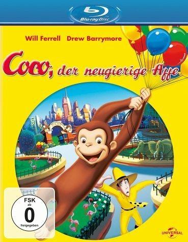 Blu-ray »Coco, der neugierige Affe«