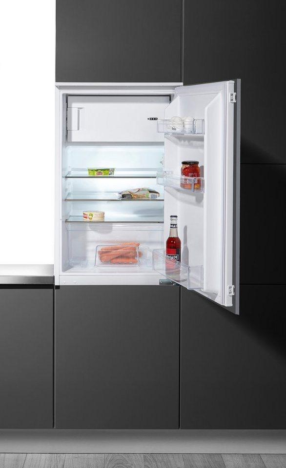 Amica Einbaukühlschrank EKS 16171, A++, 87,5 cm in weiß