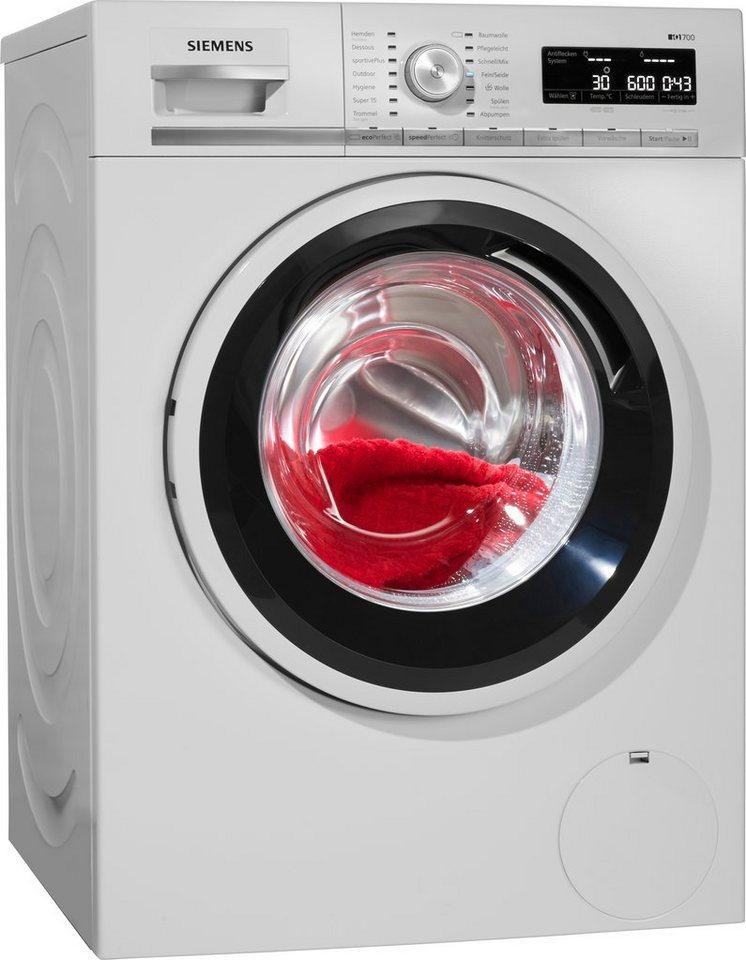 Top SIEMENS Waschmaschine iQ700 WM14W5ECO, 1400 U/Min | OTTO UO81