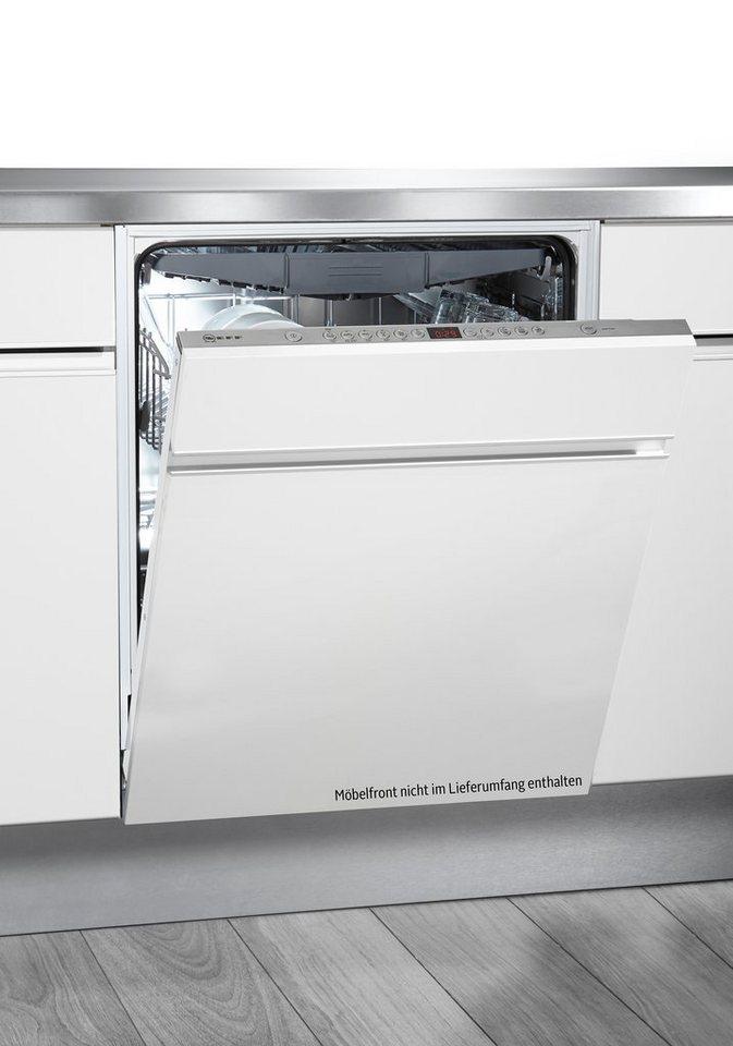 Neff vollintegrierbarer Einbaugeschirrspüler GX 59 / S52M68X7EU, A+++, 9,5 Liter, 14 Maßgedecke in edelstahl - weiß