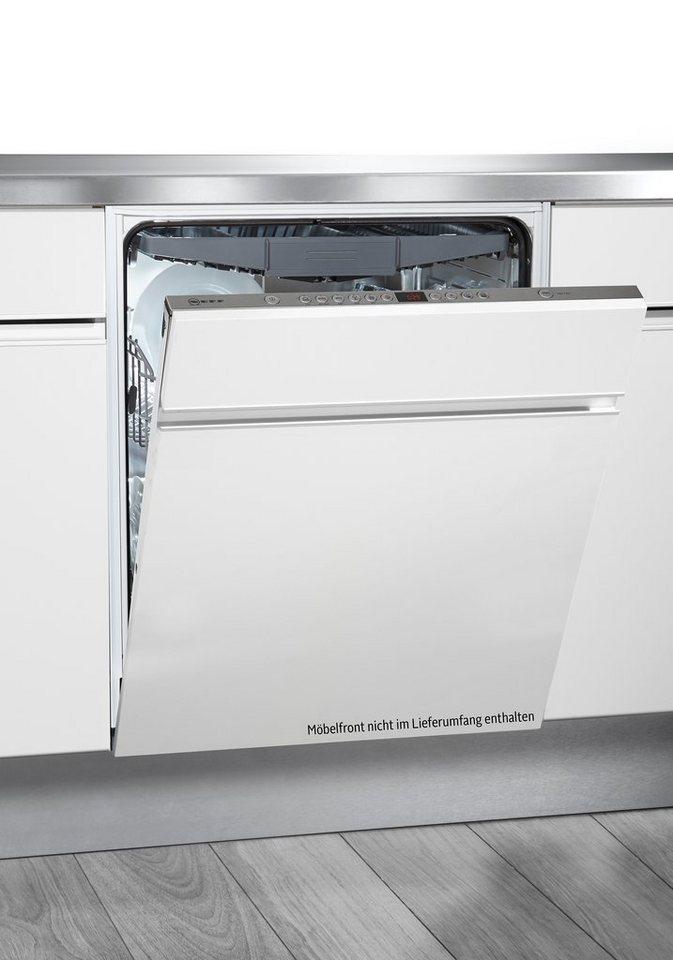 Neff vollintegrierbarer Einbaugeschirrspüler GV 54 / S51M68X8EU, A++, 9,5 Liter, 14 Maßgedecke in edelstahl - weiß