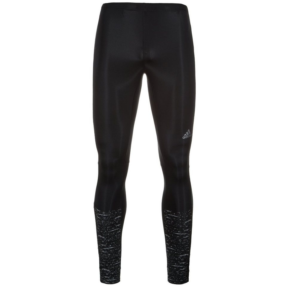 adidas Performance Supernova Graphic Long Lauftight Herren in schwarz
