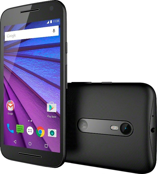 Moto G (3. Generation) Smartphone, 12,7 cm (5 Zoll) Display, LTE (4G)