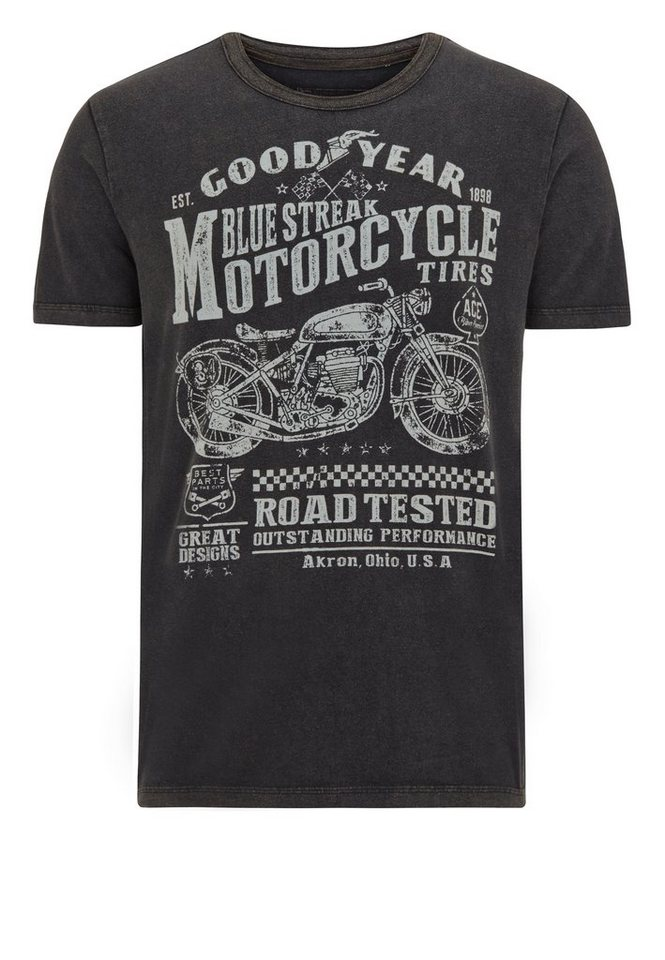 Goodyear T-Shirt »SHELBURNE« in Black