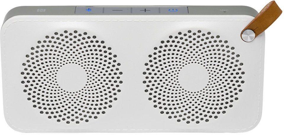 MEDION® Lautsprecher mit Bluetooth Funktion »LIFEBEAT® E61029 (MD 84949)« in weiss