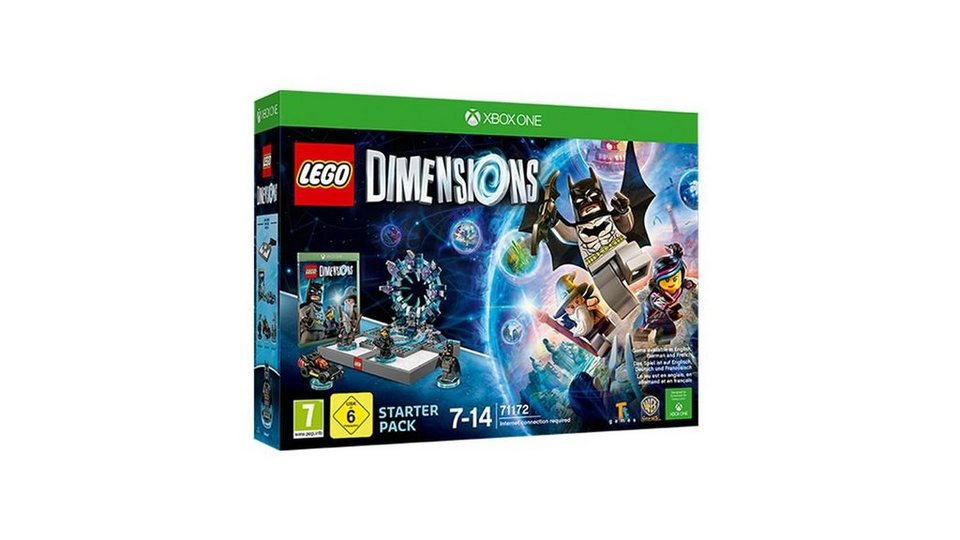 warner games xbox one spiel lego dimensions starter. Black Bedroom Furniture Sets. Home Design Ideas
