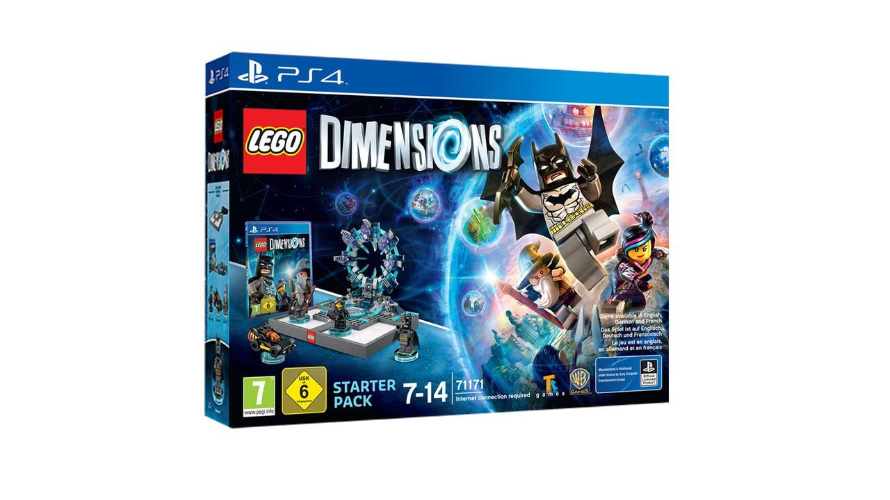 Warner Games Playstation 4 - Spiel »Lego Dimensions Starter Pack«
