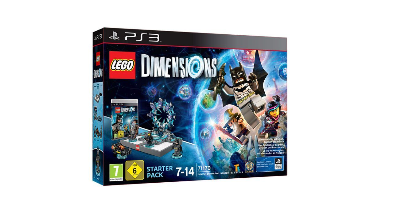 Warner Games Playstation 3 - Spiel »Lego Dimensions Starter Pack«