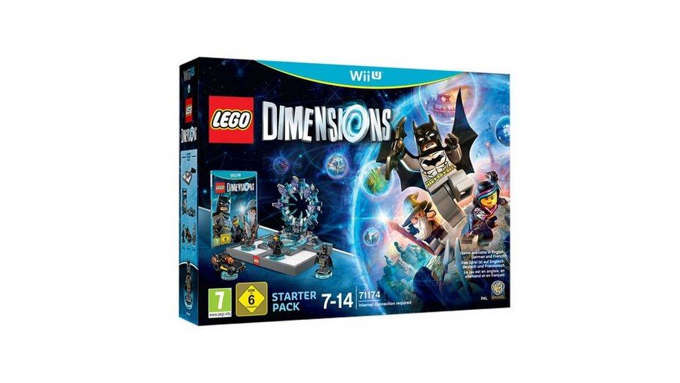 Warner Games Wii U - Spiel »Lego Dimensions Starter Pack«