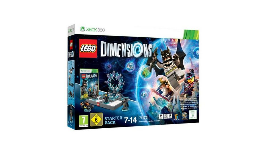 warner games xbox 360 spiel lego dimensions starter. Black Bedroom Furniture Sets. Home Design Ideas