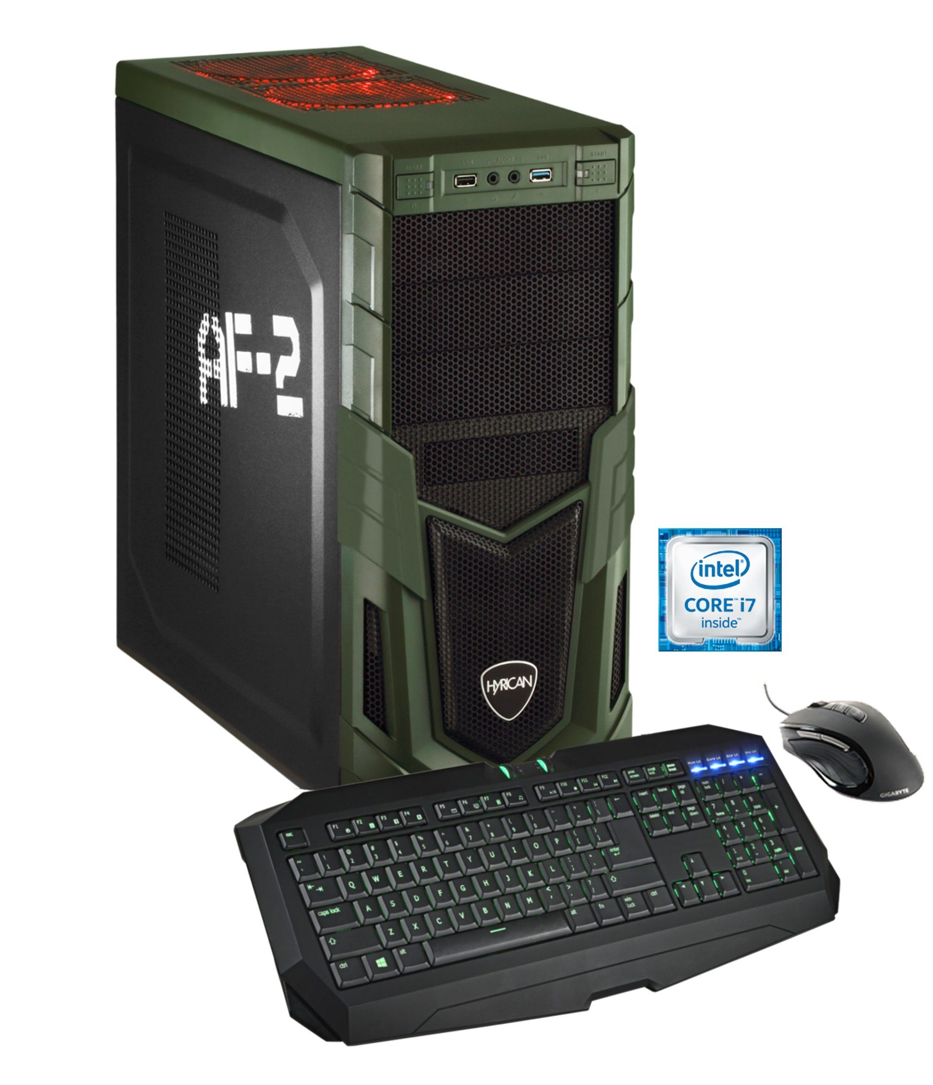 Hyrican Gaming PC Intel® i7-6700K, GeForce GTX 980Ti, Windows 10 »Military Gaming 4785 OC Edition«